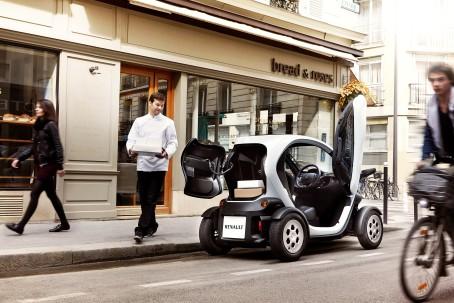 Twizy Cargo er den ideelle lydløse varebil i byen, når det er begrænset hvad man skal transportere.