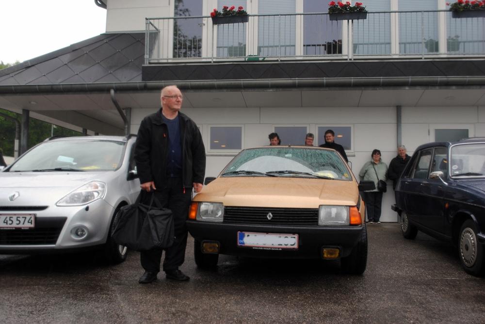 Egons Renault Fuego blev nr. 2.
