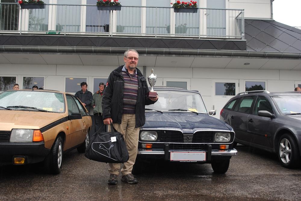 Vagn vandt helt fortjent årets flotteste bil med en flot Renault 16.